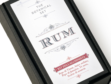 KIT DELL\'ALCHIMISTA - RUM
