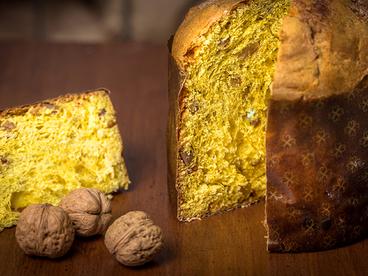 Panettone artigianale Mele Noci e Cannella 1kg