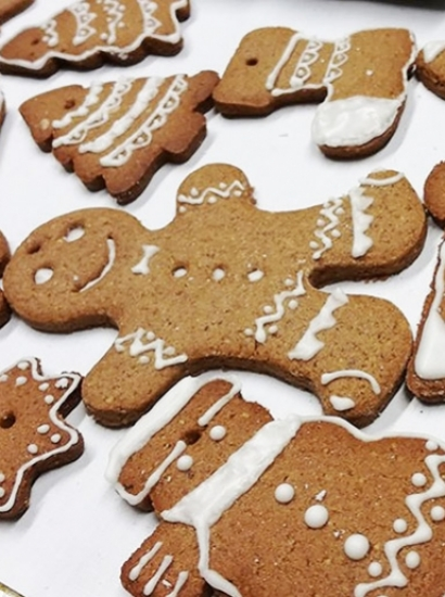SOS GINGERBREAD